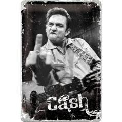 Placa metalica 20X30 Johnny Cash