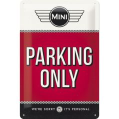 Placa metalica 20x30 Mini - Parking Only