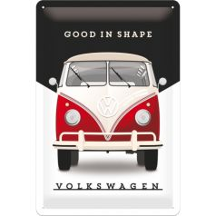 Placa metalica 20X30 VW - Good In Shape