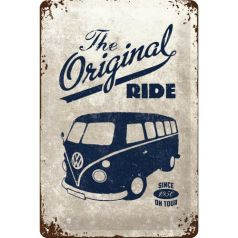 Placa metalica 20X30 VW - Original Ride