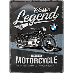 Placa metalica 30x40 BMW Classic Legend