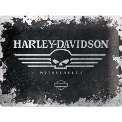 Placa metalica 30X40 Harley-Davidson No.1