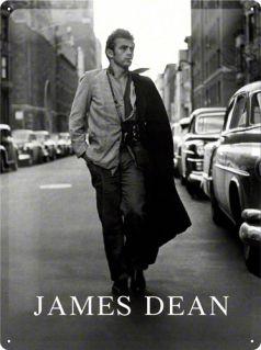 Placa metalica 30X40 James Dean