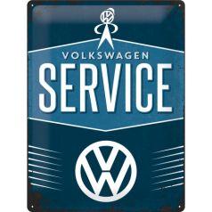 Placa metalica 30X40 VW - Service