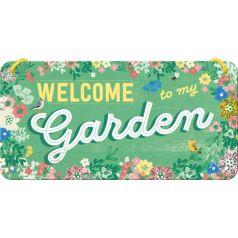 Placa metalica cu snur 10x20 Garden