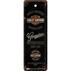 Semn de carte metalic Harley-Davidson Logo