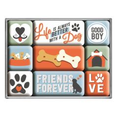 Set de magneti Love Dog