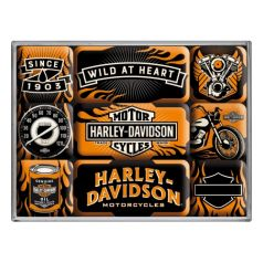 Set magneti Harley-Davidson Wild at heart