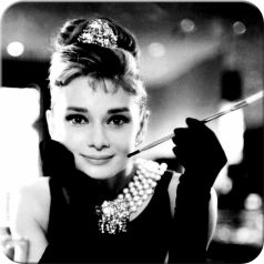 Suport pahar Audrey Hepburn - Holly Golightly