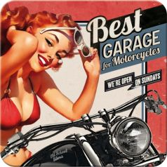 Suport pahar Best Garage - Red