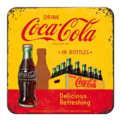 Suport pahar Coca-Cola - In Bottles Yellow
