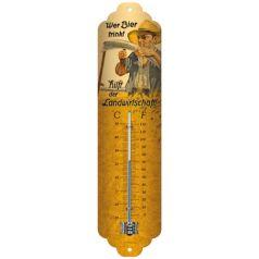 Termometru Wer Bier trinkt hilft der Landwirtschaft