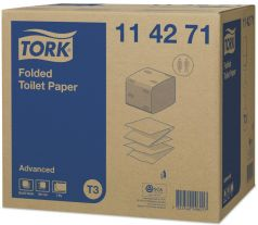 TORK FOLDED TOILET PAPER ADVANCED T3
