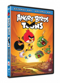 Angry Birds Toons Sezonul 2 Volumul 2 - DVD