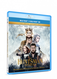 Razboinicul Vanator si Craiasa Zapezii / The Huntsman: Winter's War BD 3D+2D