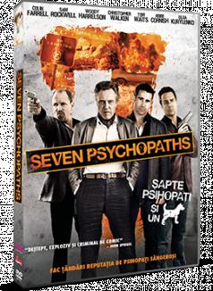 Sapte psihopati si un caine / Seven Psychopats - DVD