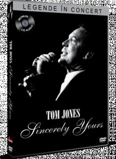 Legende in concert: Tom Jones / Tom Jones: Sincerely Yours - DVD + CD audio bonus