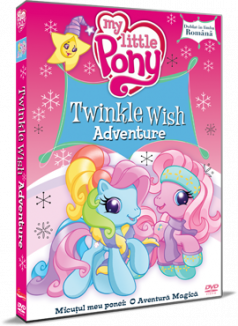 Micutul meu Ponei: O aventura magica / My Little Pony: Twinkle Wish Adventure - DVD