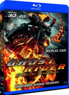 Ghost Rider 2: Demonul Razbunarii / Ghost Rider 2: Spirit of Vengeance - BD 3D + 2D