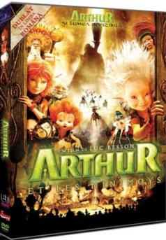 Arthur 1: Lumea Invizibila / Arthur et les Minimoys - DVD