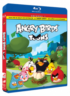 Angry Birds Toons Sezonul 1 Volumul 1 - BD