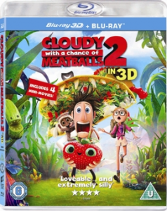 Sta sa ploua cu chiftele 2 / Cloudy with a Chance of Meatballs 2 - BD 3D + 2D