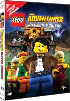 Lego: Aventurile lui Clutch Powers / The Adventures of Clutch Powers - DVD