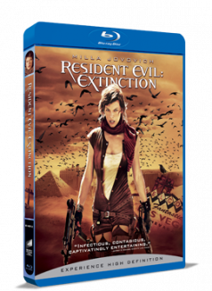 Resident Evil: Disparitia / Resident Evil: Extinction BD