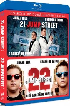 21 Jump Street: O adresa de pomina & 22 Jump Street: O alta adresa de pomina - BD set