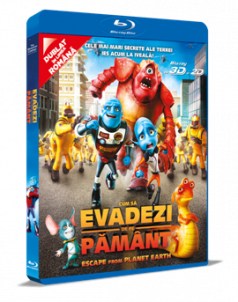 Cum sa evadezi de pe Pamant / Escape From Planet Earth - BD 3D + 2D