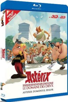 Asterix: Domeniul Zeilor / Asterix: Le domaine des Dieux - BD 3D + 2D