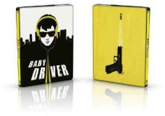 Baby Driver - BD 2D + CD original Soundtrack (Steelbook)