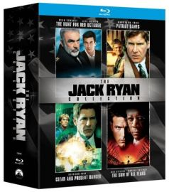 Colectia Jack Ryan / The Jack Ryan Collection (4 filme Blu-ray) - BLU-RAY