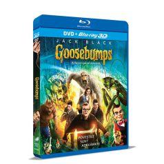 Goosebumps: Iti facem parul maciuca / Goosebumps - BD 3D + DVD