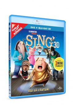 Hai sa cantam! / Sing BD 3D + DVD