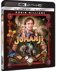 Jumanji - BD 2 discuri (4K Ultra HD + Blu-ray)