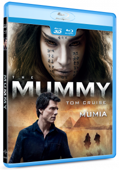 Mumia / The Mummy (2017) - BD 2D + 3D