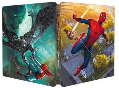 Omul-Paianjen: Intoarcerea acasa / Spider-Man: Homecoming - BD 3D + 2D (Steelbook)