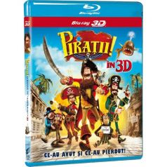 Piratii! O banda de neispraviti / The Pirates! Band of Misfits - BD 3D