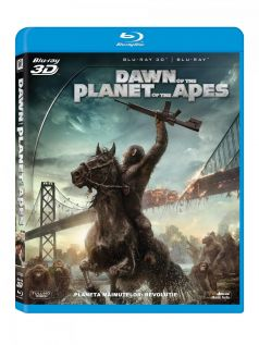 Planeta Maimutelor 2: Revolutie / Dawn of the Planet of the Apes - BD Combo (3D+2D)