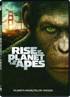 Planeta Maimutelor 1: Invazia / Rise of the Planet of the Apes - DVD