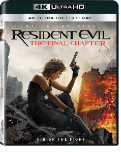 Resident Evil: Capitolul Final / Resident Evil: The Final Chapter - BD 2 discuri (4K Ultra HD + Blu-ray)