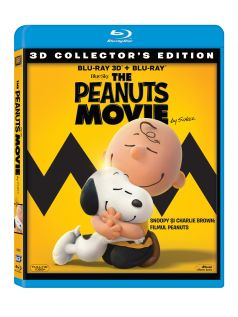 Snoopy si Charlie Brown: Filmul Peanuts / The Peanuts Movie - BD Combo (3D+2D)
