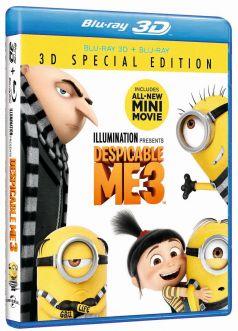 Sunt un mic ticalos 3 / Despicable Me 3 - BD 3D + 2D