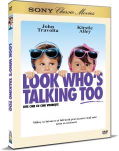 Uite cine cu cine vorbeste / Look Who s Talking Too - DVD