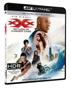 Triplu X: Intoarcerea lui Xander Cage / XXX: The Return of Xander Cage - BD 2 discuri (4K Ultra HD + Blu-ray)