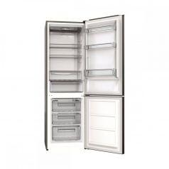 Combina frigorifica Albatros CFX39A+, 312 litri, Clasa A+, H 186 cm, Inox