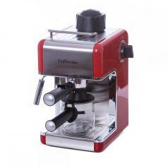 Espressor  Samus CAFFECCINO,  800 W,3.5 bari, 4 cesti, culoare rosie