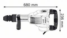 Ciocan demolator SDS-max GSH 11 VC