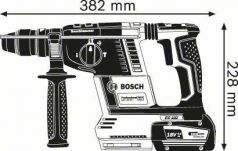 Ciocan rotopercutor GBH 18V-26 F cu 2 acumulatori GBA 18 V 6.0 Ah